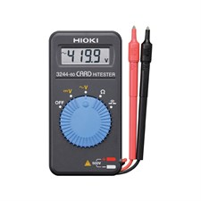 HIOKI 3244-60 Card Style Pocket Digital Multimeter AC/DC with Resistance