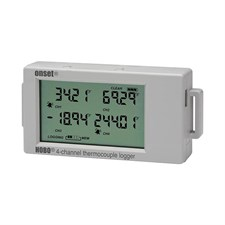HOBO UX120-014M 4-Channel Temperature Data Logger -260°C to 1,820°C