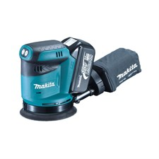 Makita DBO180 Cordless Random Orbit Sander 125mm - 18V