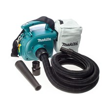 Makita DVC350 Cordless Backpack Vacuum Cleaner 3.0L - 18V